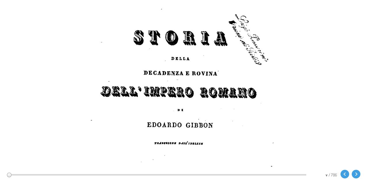 GIBBON - DECADENZA E ROVINA IMPERO ROMANO