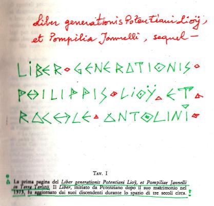 LIBER GENERATIONIS